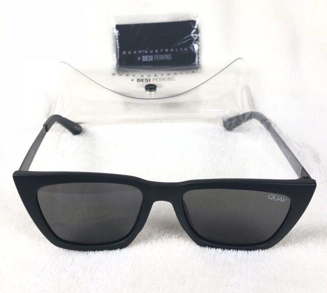 944a3462aae72 Quay Australia X Desi Perkins Don t at Me Sunglasses in Black smoke Fashion
