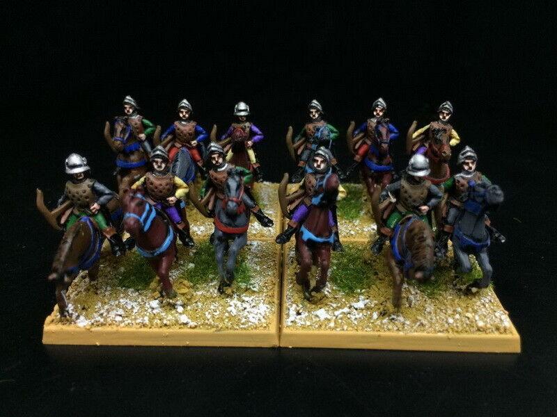 15 alten ep gemalt, mittelalterliche westeuropäischen pferd bogenschützen rc833
