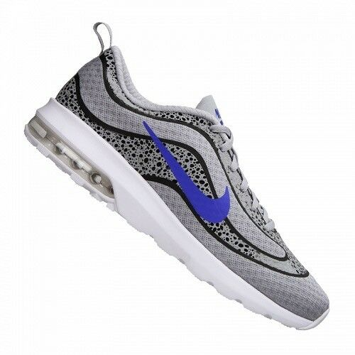 Nike Air Max Mercurial 98 SAFARI Cool Grey Blue White 1 Mens Running Shoes Sz 11