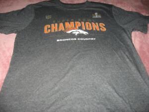 NFL Football Denver Broncos Super Bowl Champions Youth Size Large 14 ... f7076d138