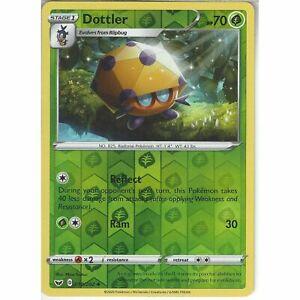 018-202-Dottler-Uncommon-Reverse-Holo-Card-Pokemon-TCG-Sword-amp-Shield-Base-Set