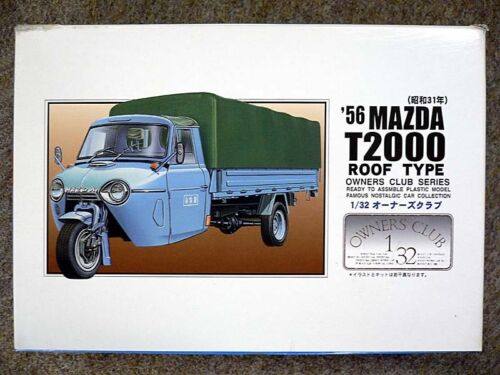 Microace Arii Owners Club 1//32 49 1956 Mazda T2000 Roof 1//32 scale kit