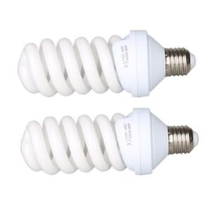 2X-45W-220V-E27-Photo-Studio-Daylight-Bulb-Continuous-Light-Lamp-Tricolor-Bulb