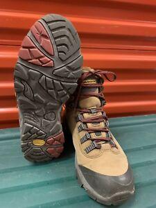 baf581bd8e7 Details about VASQUE Womens Gore-Tex Hiking Boots 7083 Size 10 Vibram  Genuine Leather