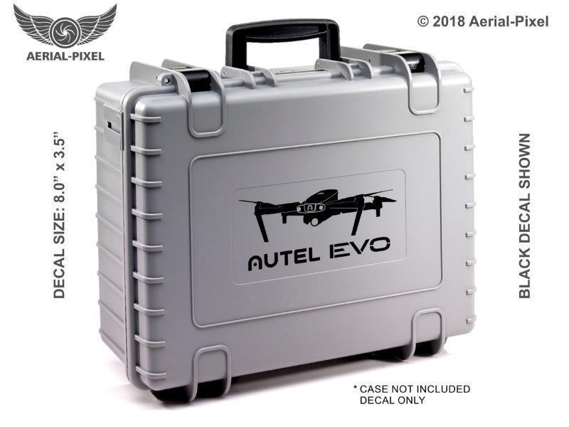 AUTEL EVO II 2 8K Window or Case Decal Sticker for UAV UAS Drone