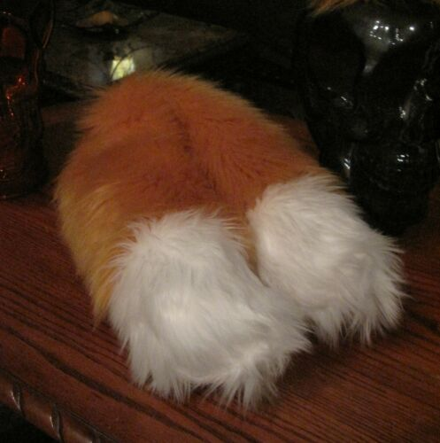 Sonic Miles Tails Prower shag faux fur ears tails or sets in 2 sizes