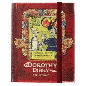 Dorothy Diary Vol.3 Undated Planner Journal Scheduler Organizer Agenda Notebook