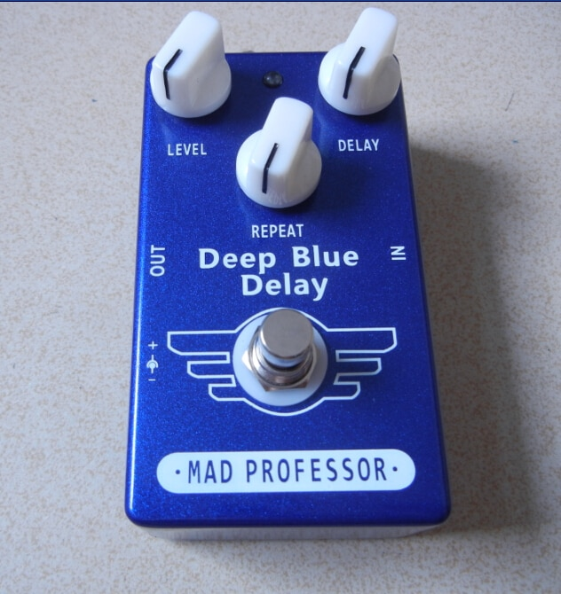 Mad Professor Deep Blau Delay Guitar Effect Pedal for Great Delay Sound