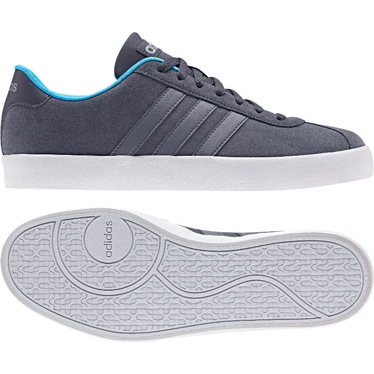 Descuento de la marca Adidas vlcourt vulc Grey aw3927 neo cortos calzado deportivo