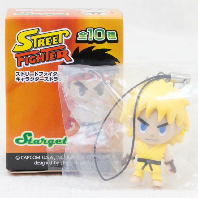 Street Fighter 2 Ken Another ver. Character Strap Figure Capcom JAPAN GAME