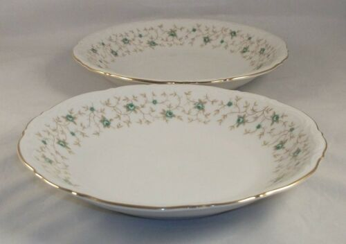 Mitterteich LADY PATRICIA 2 Coupe Soup Bowls LIGHT USE