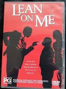 LEAN-ON-ME-MORGAN-FREEMAN-GENUINE-REGION-4-DVD-SCHOOL-DRAMA-TRUE-STORY-NOT-MOD