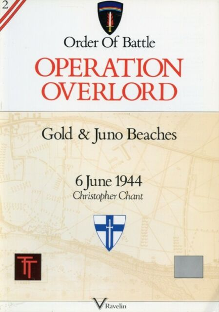 Operation Overlord: Gold & Juno Beaches by Christopher Chant Stackpole Books U1