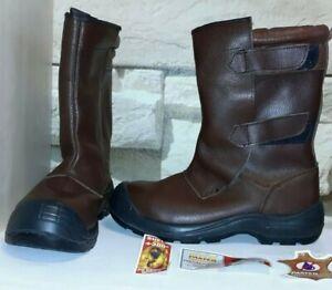sports shoes b4bee 7c903 Details zu Panter Drago Totale Herren Elektriker Sicherheitsschuhe S2  Marron 268 Gr.43 Neu!