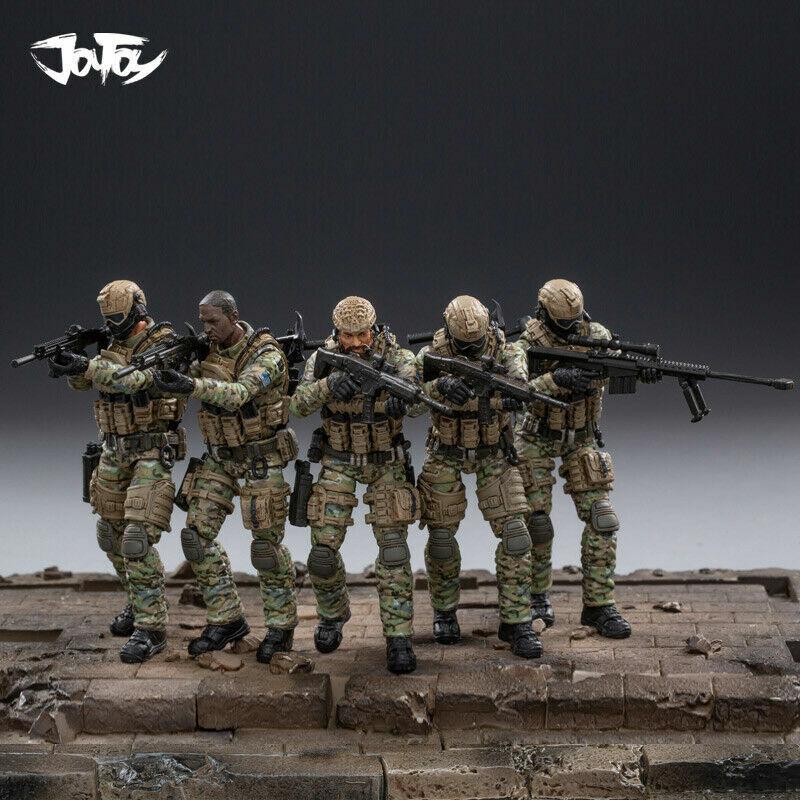 JOYTOY JOYTOY JOYTOY JTUS004 1 18 US Army Kavallerie Regiment Action Soldat 5 Figuren Set Model b14
