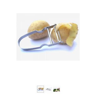 Eplucheur légumes,ECONOME,PELLE LEGUMES  Castor Inox FRANCE