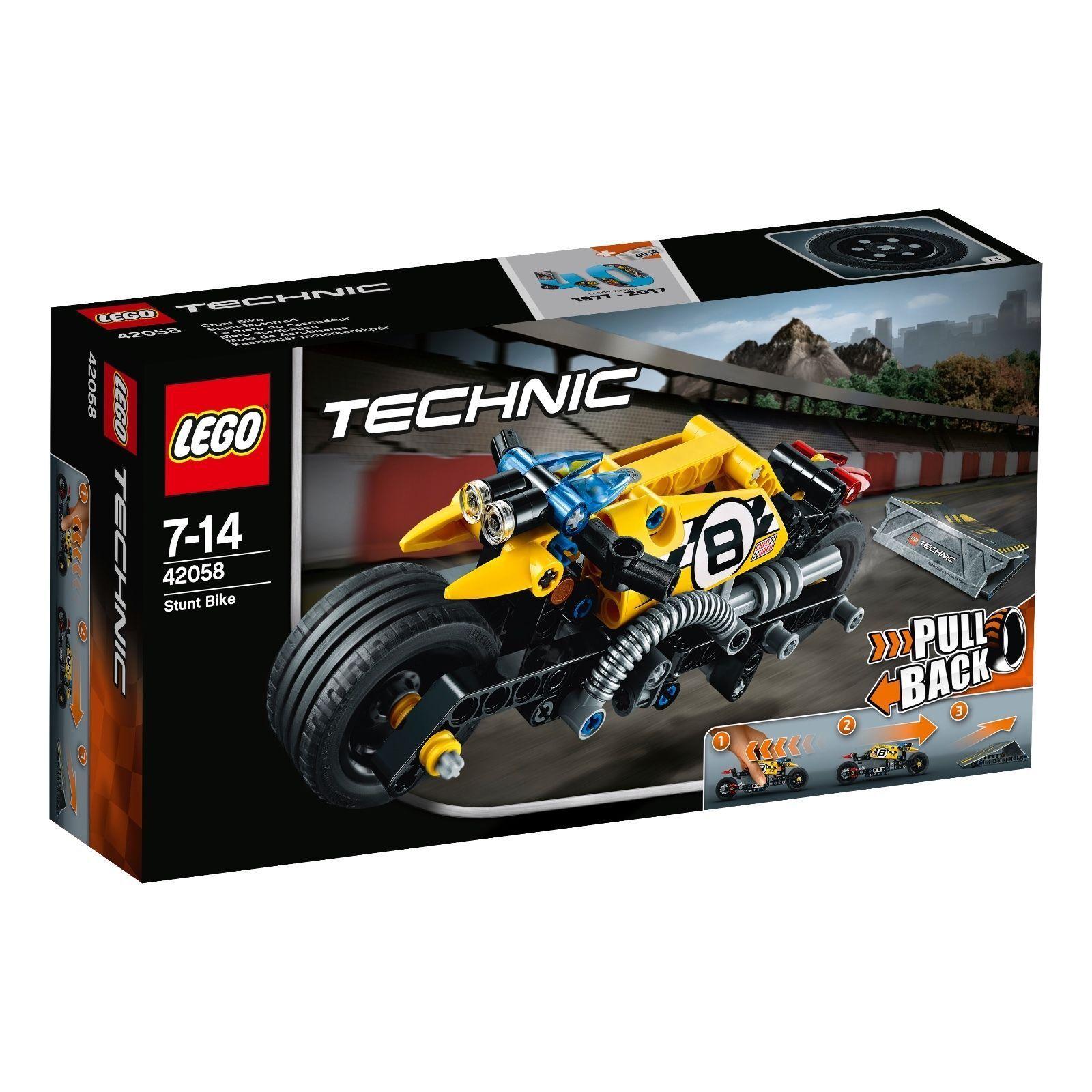 LEGO® Technic 42058 Stunt-Motorrad NEU OVP_ Stunt Bike NEW MISB NRFB