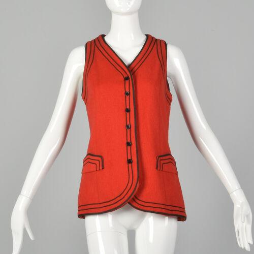 California shirt Tempo Vtg 70s ladies vest top