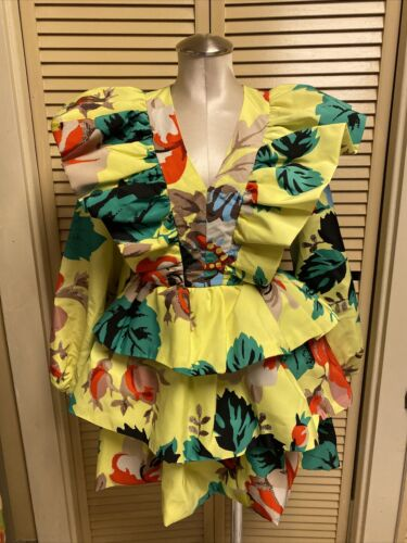 Christopher John Rogers X Target Size 0 Floral Lo… - image 1