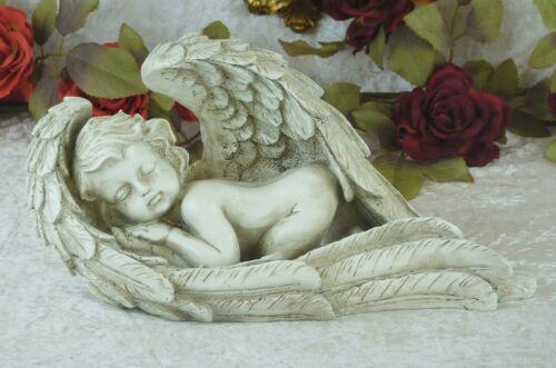 Figur Engel Engelfigur Grabengel Schutzengel Skulptur Dekoration Putte Amor Deko