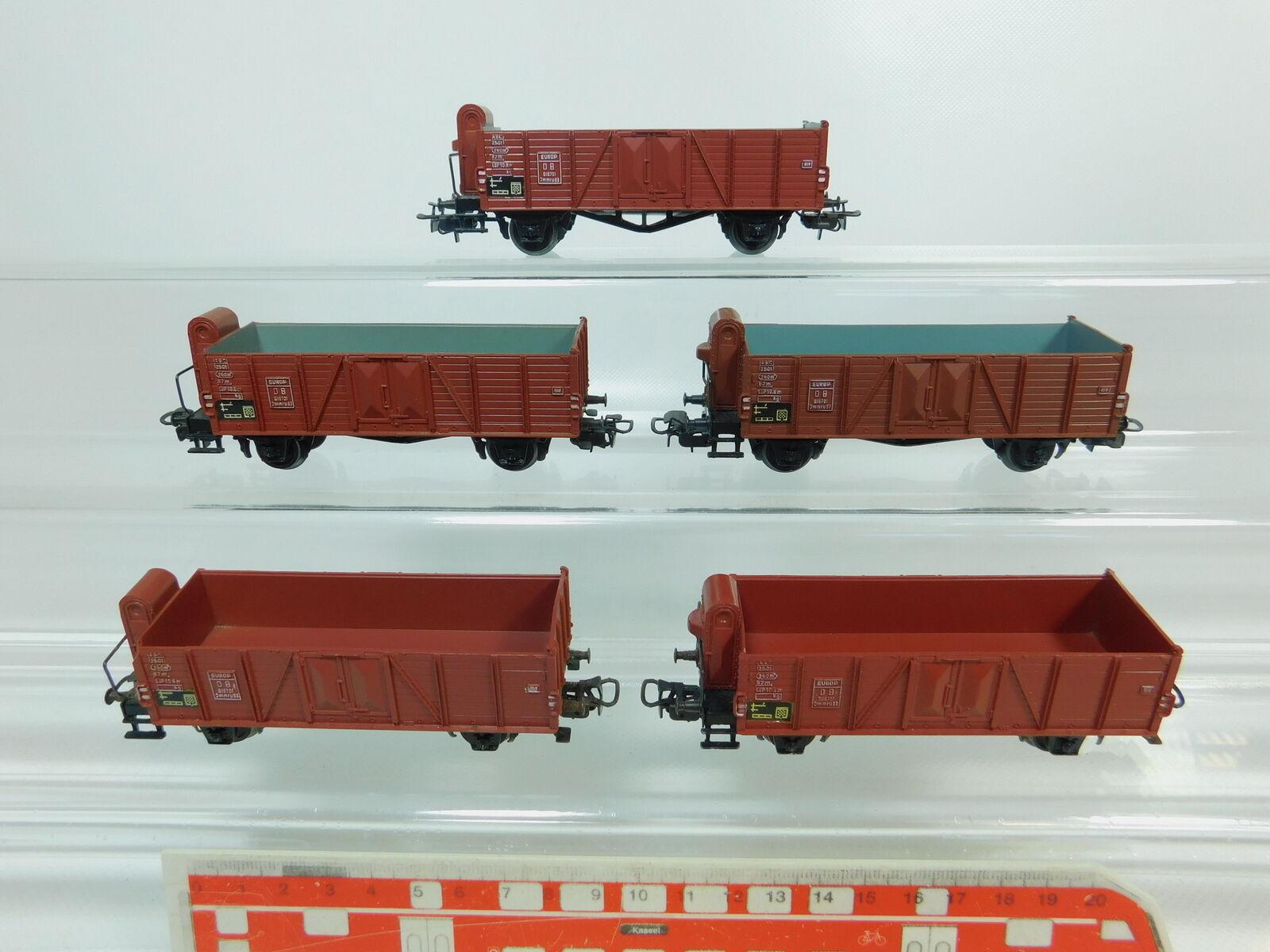 BP715-1x Märklin H0 AC 4601 (311 1) Güterwagen Hochbordwagen DB, 2. Wahl