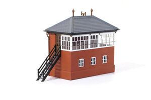 RATIO-00-H0-Railway-Layout-Scenic-Kit-No-552-GWR-Brick-Signal-Box