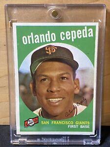 1959-Topps-390-ORLANDO-CEPEDA-card-GIANTS-HOF-MUST-SEE-BV