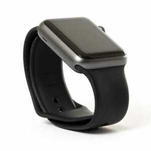 Apple Watch Series 2 42mm Aluminum Case Sport Band Space Grey Black Ebay