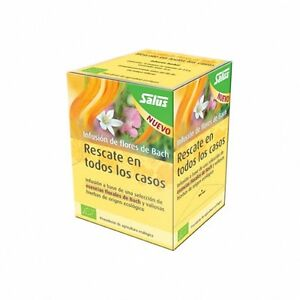 Salus Rescue In All Cases Infusion Of Flowers Bach 15 Bags 029000