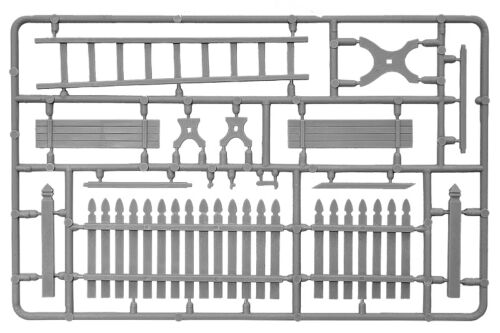 Miniart 35539-1//35 Villadge Acceessoris Plastic Model Kit  Denalis 32
