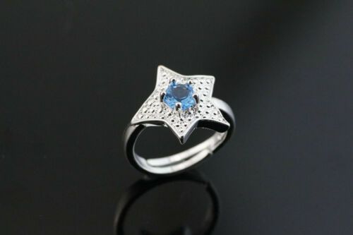 925 Sterling Silver plating Solid fashion jewelry  Ring Wholesale SIZE OPEN J02