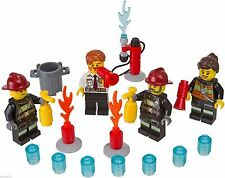 NEW LEGO® City FIRE  Accessory Set Minifigures - 850618  retired firemen