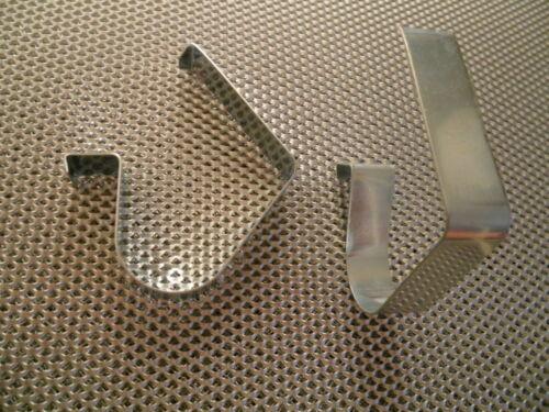 4x Befestigung Küchensockel Sockel Klipse Klammer Halter Küche Clip Sockelleiste