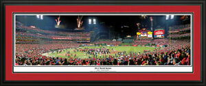 St-Louis-Cardinals-2011-World-Series-Deluxe-Panoramic-Picture-Matted-amp-Framed