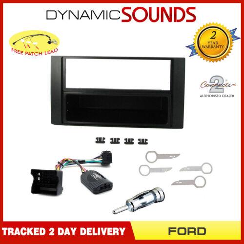 CT24FD10 doble DIN Radio Estéreo Fascia Facia Kit de Montaje para Ford Focus 05-07