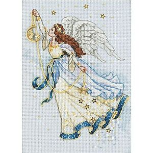 Dimensions Gold Collection Petite Twilight Angel Counted Cross Stitch - 238228