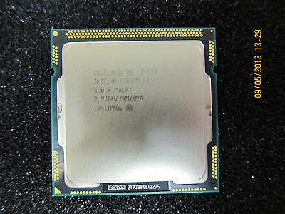 i3-530 Intel Core i3 Desktop I3-530 2 Core 2.93GHz LGA 1156 4 MB L3 Processor