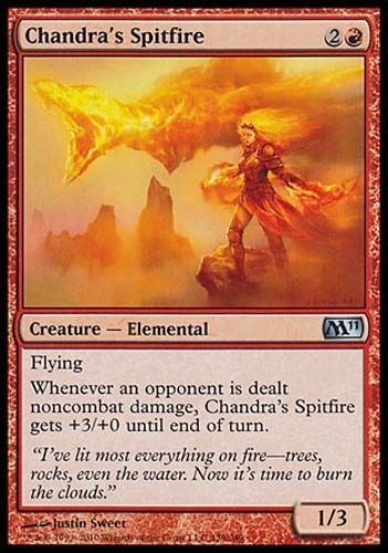 4x Chandra/'s Spitfire M11 MtG Magic Red Uncommon 4 x4 Card Cards