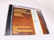 Ohno,Kazumichi - Andeutung im Mondschein (Ein japanischer Liederabend)  CD OVP