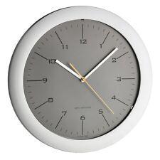 Design pared reloj radiocontrolado especialmente silencioso gris-plata, 305 mm de ø 60.3512.10