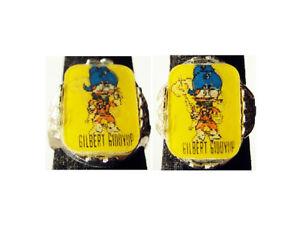 Rare-Vintage-Hardees-Gilbert-Giddyup-Flicker-Ring