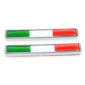 Italy-Italian-Flag-Logo-Emblem-Badge-Car-Motorcycle-Decorative-Decor-Sticker