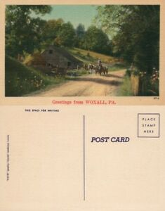GREETINGS-FROM-WOXALL-PA-VINTAGE-POSTCARD
