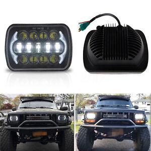 DOT-Approved-5x7-039-039-7x6-039-039-LED-Headlight-Hi-Lo-Beam-DRL-for-Jeep-Cherokee-XJ-YJ-MJ