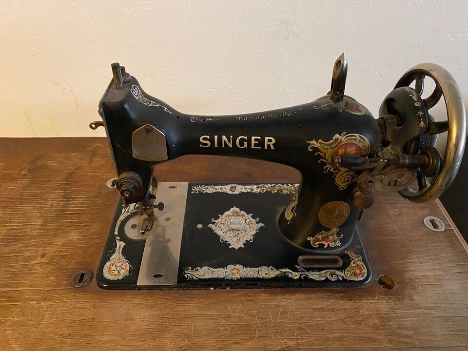 Singer symaskine med bod
