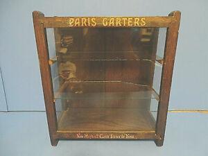 Antique  Display Case for Men's Paris Garters A. Stein & Company Chicago IL