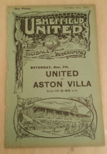 192526 Central League SHEFFIELD UNITED RES. v BOLTON WANDERERS RES 31st Oct.