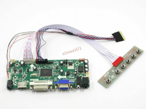 DIY LCD Controller Board Driver Card HDMI+VGA for LP154WX4 B154EWO4 LTN160AT01