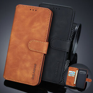 For-Samsung-Galaxy-S10-S10e-S10-S9-S8-S7-Case-Magnetic-Flip-Leather-Phone-Cover