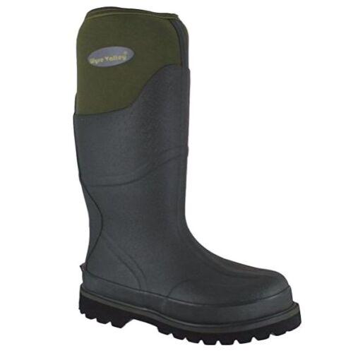 MENS Wyre Valley WATERPROOF NEOPRENE WELLINGTON  MUCKER RAIN YARD BOOTS SZ 5-13